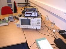 Signal analyzers (HP35665A / HP89410A)