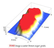 TORI image a caster brown sugar grain.
