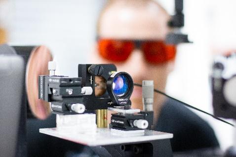 Expérience Pompe/Sonde THz/Optique résolue en temps