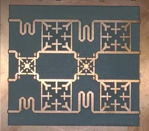 Exemple de gravure PCB