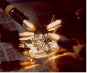 Caractérisation sous pointes de transistors