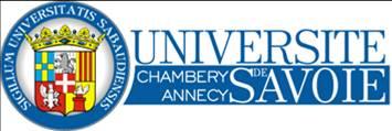Site Université Savoie http://www.univ-savoie.fr
