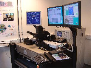 Station permettant des caractérisations jusqu'à 100Ghz