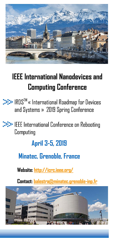 IEEE International Nanodevices and Computing Conference