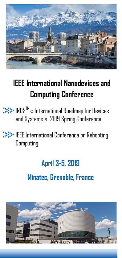 « IRDS 2019 Spring Conference » & « IEEE Conference on Rebooting Computing »