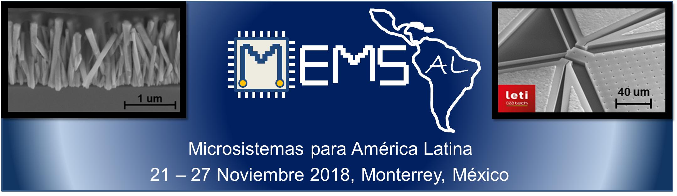 MEMS-Al Microsistemas para América Latina  21-2 Noviembre 2018