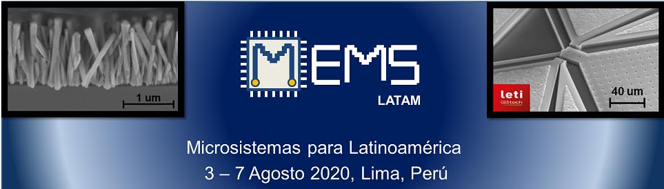 Microsistemas para Latinoamérica  3-7 Agosto 2020 , Lima, Perù
