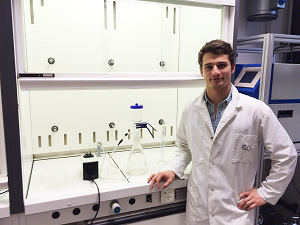 Maxime LEGALLAIS, the October laureate of NanoART 2015