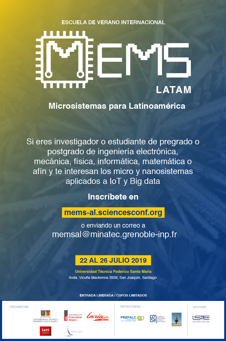 using on Micro and Nanosystems 22-26 July 2019