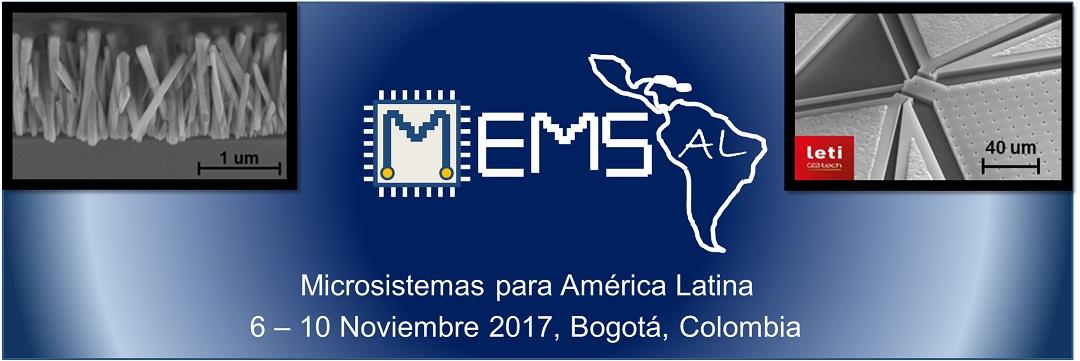 MEMS-Al  6-10 Noviembre 2017 - Bogotà (Colombia)