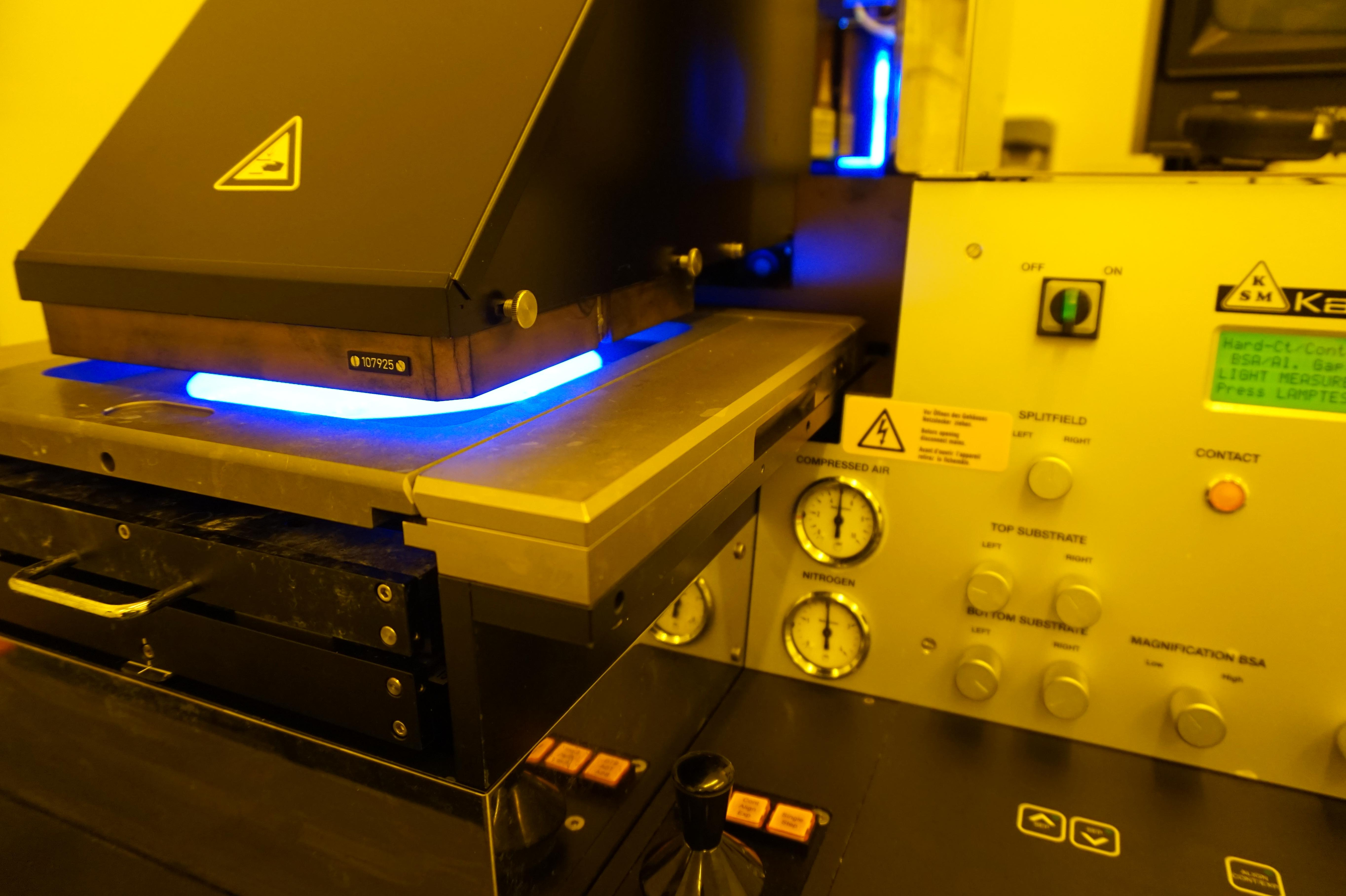 Photolithographie UV